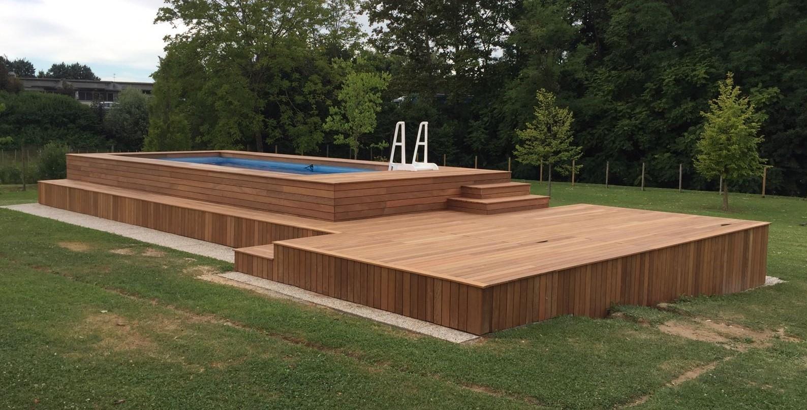 Le 48 pi belle piscine fuori terra rivestite piscine - Piscine fuori terra rivestite ...