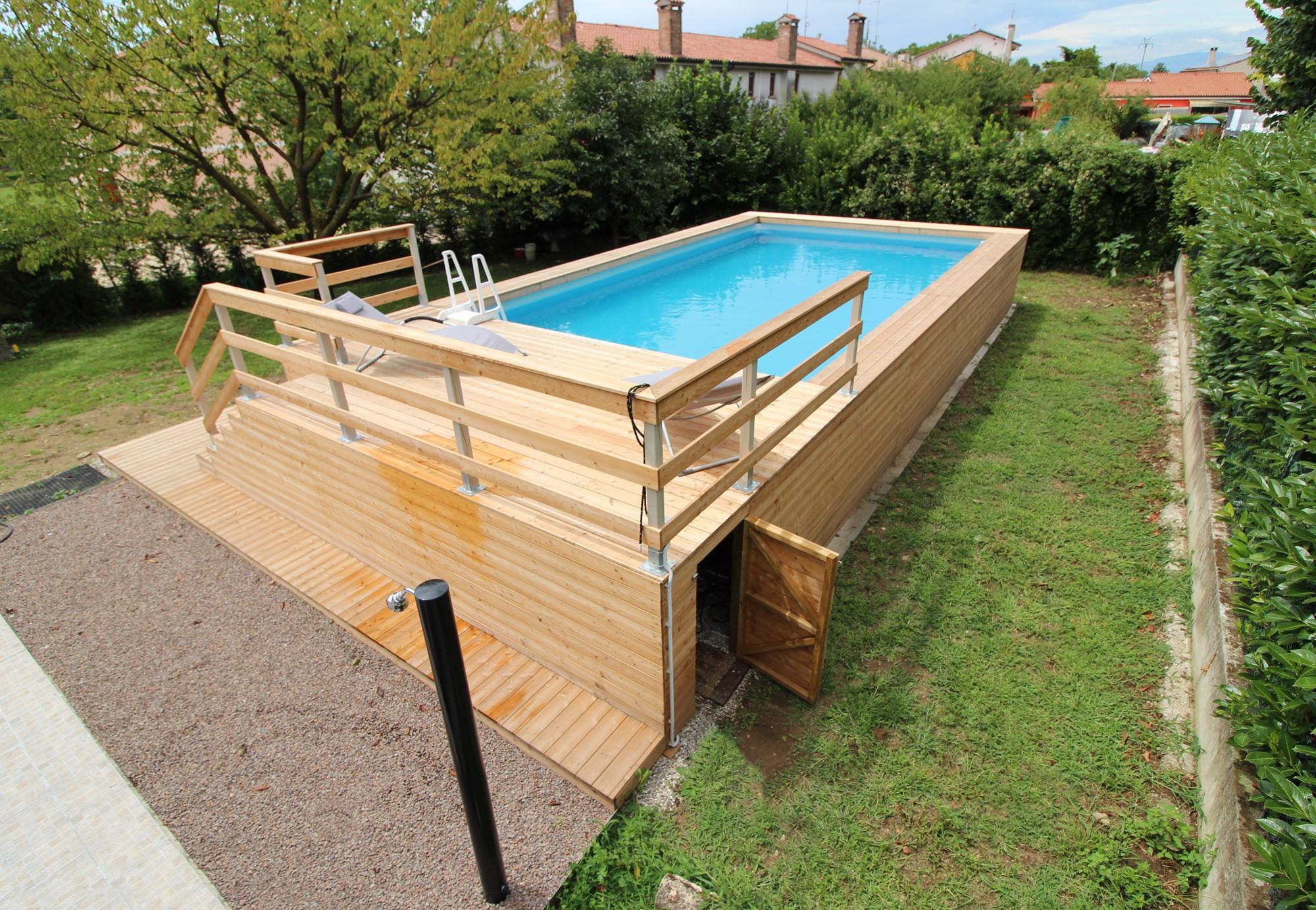 Solarium per piscine fuori terra hu27 regardsdefemmes - Piscina seminterrata prezzi ...