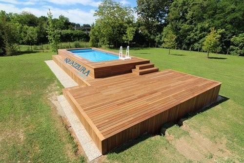 Solarium per piscine fuori terra hu27 regardsdefemmes - Piscine esterne ...