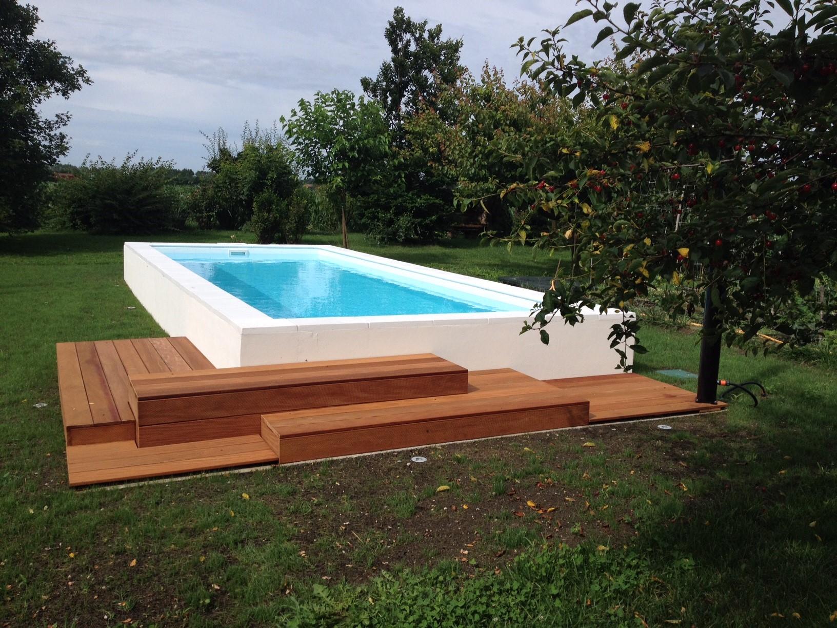 Qualche idea per la tua futura piscina interrata piscine - Piscina seminterrata prezzi ...