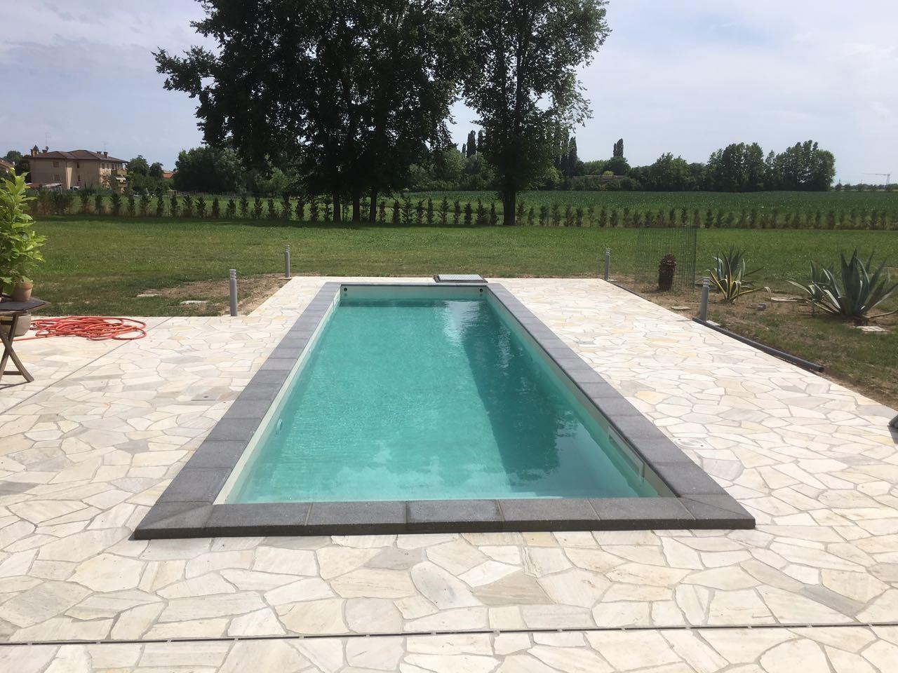 guarda come nasce una piscina nelle 8 immagini piscine