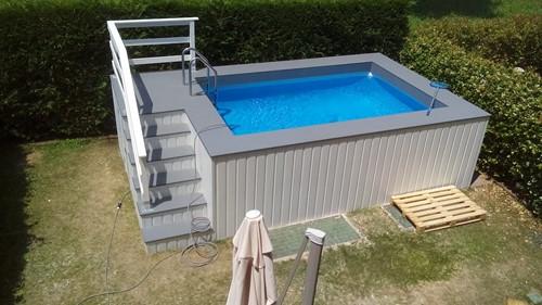 Le più belle piscine fuori terra rivestite piscine